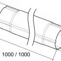 Труба круглая соединительная схема