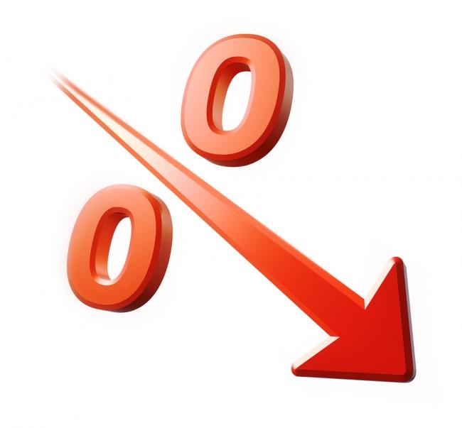 процент снижение
