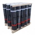 Рулонная кровля Стеклопласт ХКП сланец серый (Рулон 9x1 м)